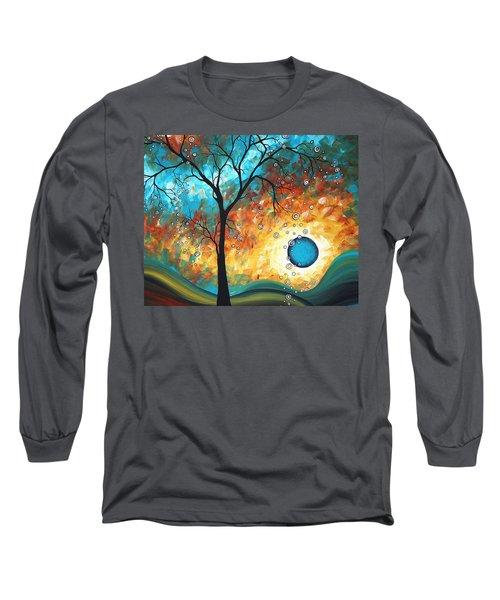 Aqua Burn By Madart Long Sleeve T-Shirt