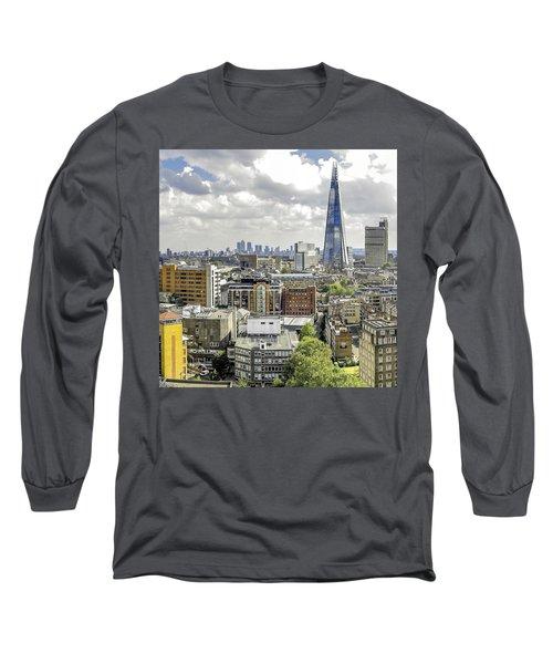 Aqua Shard  Long Sleeve T-Shirt