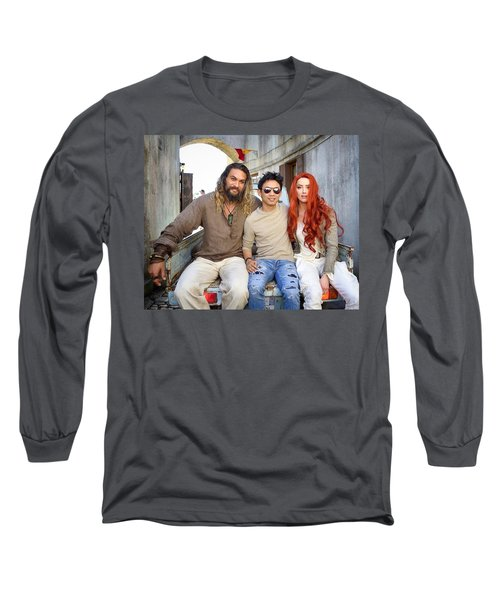 Aquaman Long Sleeve T-Shirt