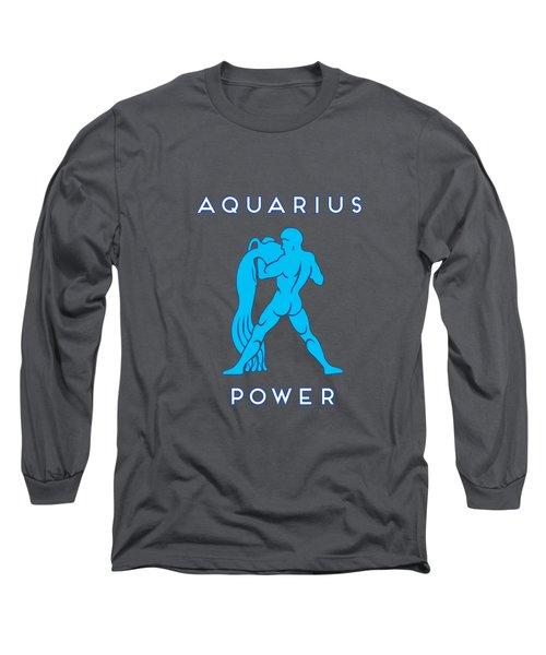 Aquarius Power Long Sleeve T-Shirt