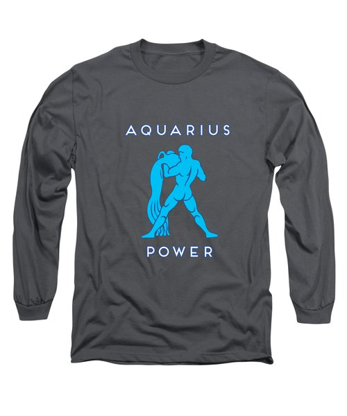 Aquarius Power Long Sleeve T-Shirt