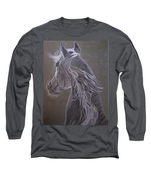 Arab Horse Long Sleeve T-Shirt