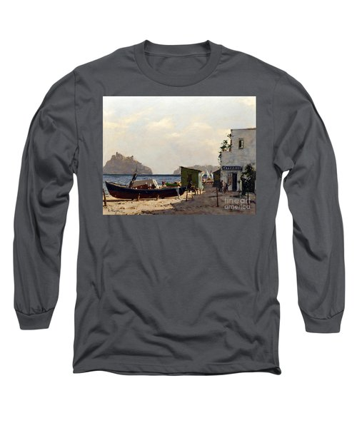 Aragonese's Castle - Island Of Ischia Long Sleeve T-Shirt