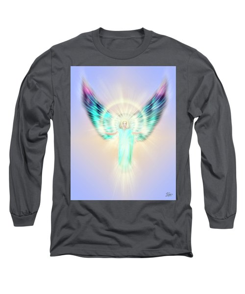 Archangel Uriel - Pastel Long Sleeve T-Shirt