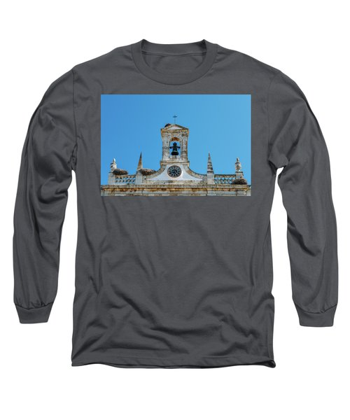 Arco De Vila, Faro, Algarve, Portugal Long Sleeve T-Shirt