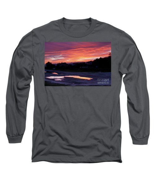 Long Sleeve T-Shirt featuring the photograph Ardore, Calabria Town by Bruno Spagnolo
