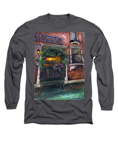 Are You There My Love? Long Sleeve T-Shirt by Retta Stephenson