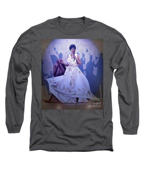 Aretha Franklin Rock Steady Long Sleeve T-Shirt