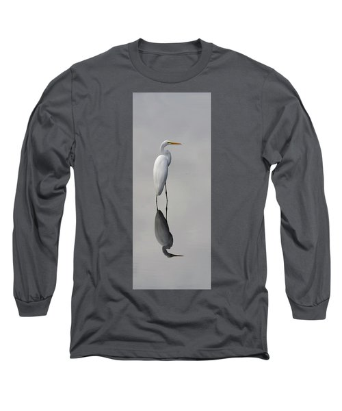 Argent Mirror #2 Long Sleeve T-Shirt