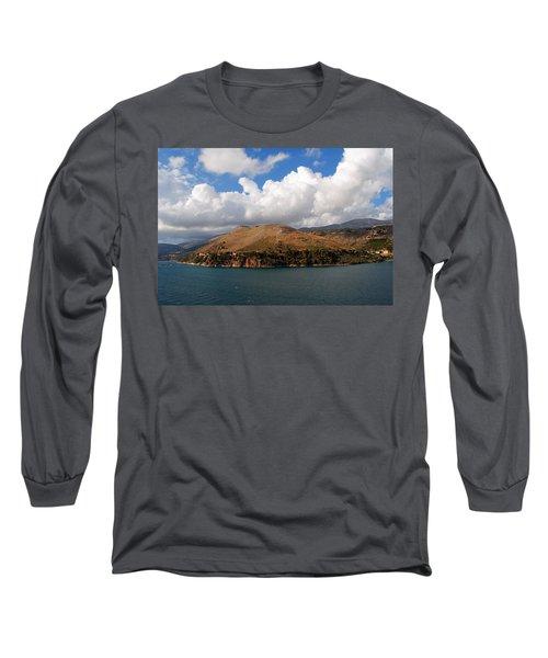 Argostoli Greece Long Sleeve T-Shirt by Robert Moss