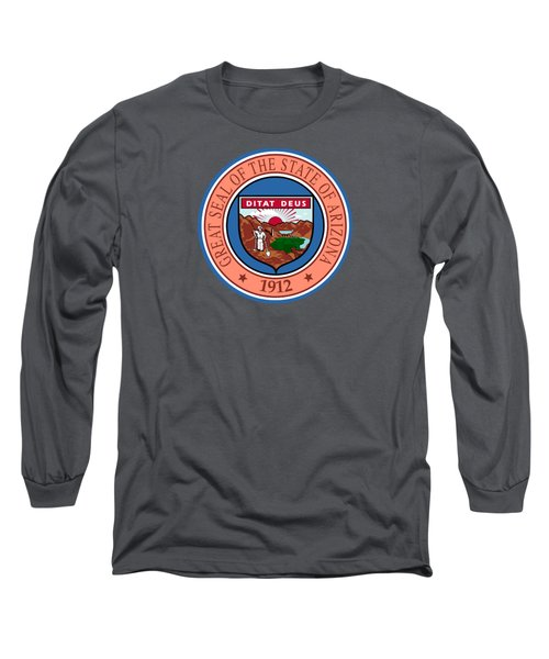 Arizona State Seal Long Sleeve T-Shirt