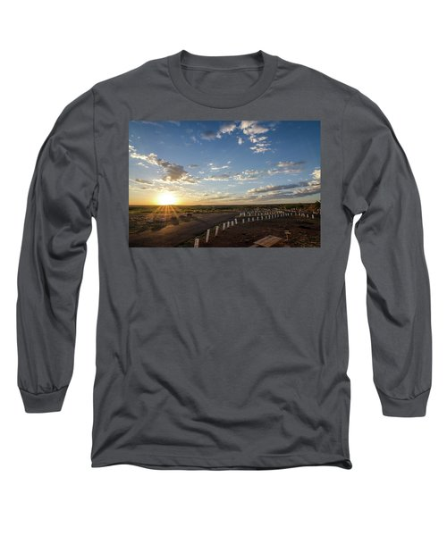 Arizona Sunrise Long Sleeve T-Shirt