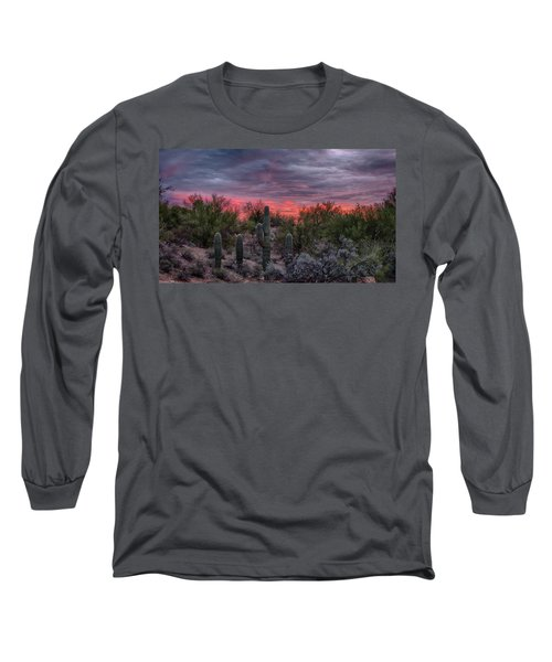 Arizona Sunset Long Sleeve T-Shirt