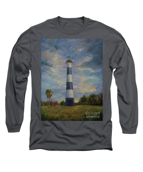 Armadillo And Lighthouse Long Sleeve T-Shirt
