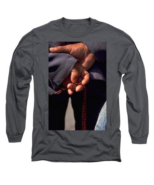 Armenian Prayer Beads Long Sleeve T-Shirt