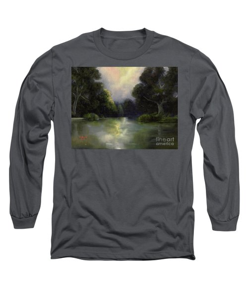Around The Bend Long Sleeve T-Shirt by Marlene Book
