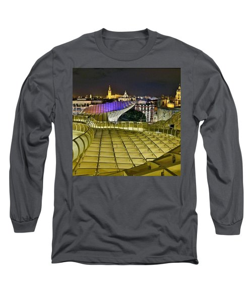 Arriba Las Setas De #sevilla Long Sleeve T-Shirt