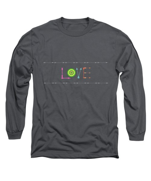 Arrow Love - Changeable Background Color Long Sleeve T-Shirt
