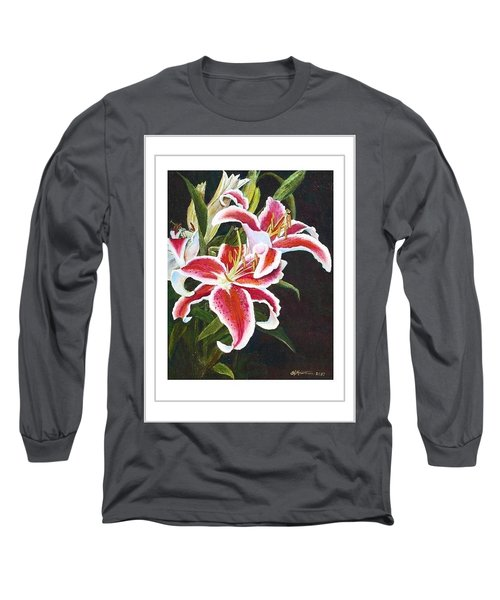 Art Card - Lilli's Stargazers Long Sleeve T-Shirt by Harriett Masterson