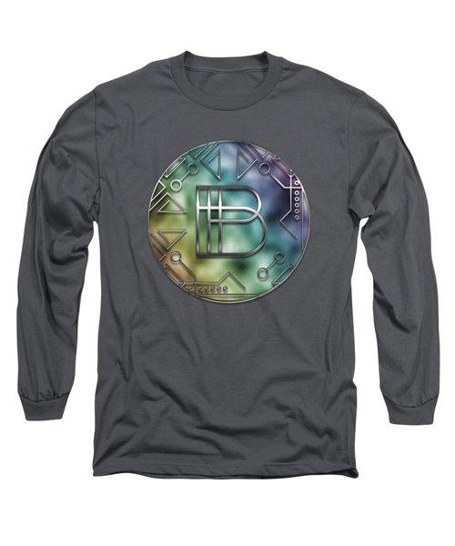 Art Deco - B Long Sleeve T-Shirt