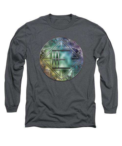 Art Deco - E Long Sleeve T-Shirt