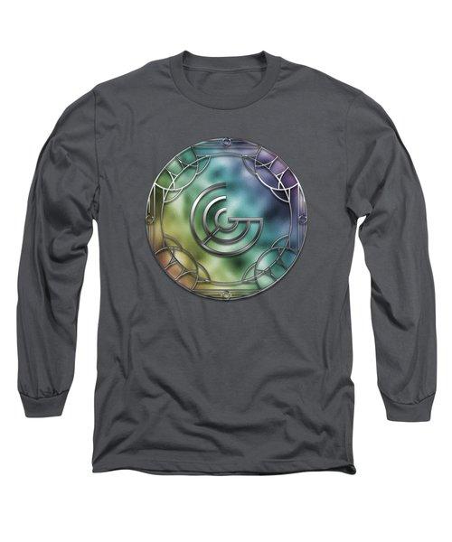 Art Deco Monogram - G Long Sleeve T-Shirt