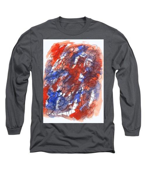 Art Doodle No. 28 Long Sleeve T-Shirt