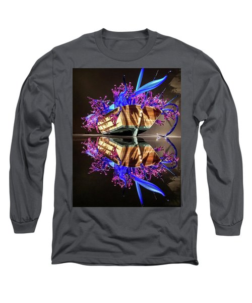 Art Glass Reflection By Chihuly Long Sleeve T-Shirt