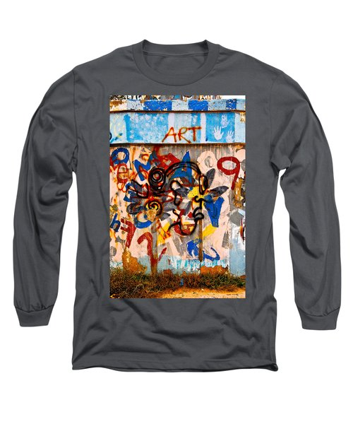 Long Sleeve T-Shirt featuring the photograph ART by Harry Spitz