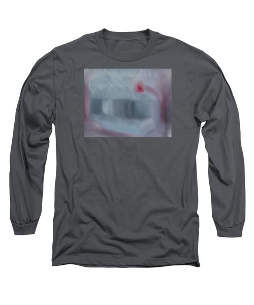 Art Is To Serve The Public  Long Sleeve T-Shirt by Min Zou