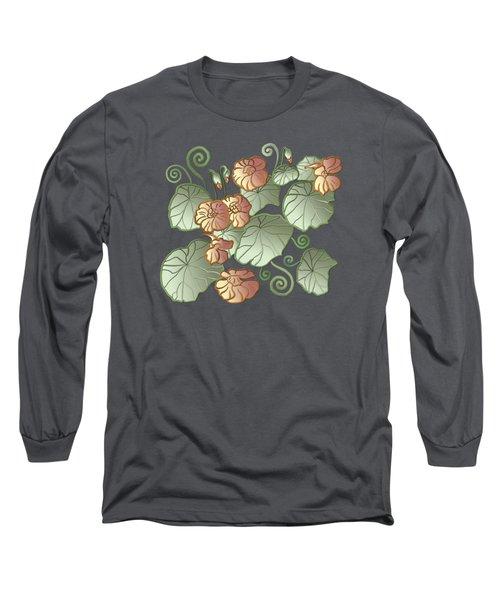 Art Nouveau Garden Long Sleeve T-Shirt