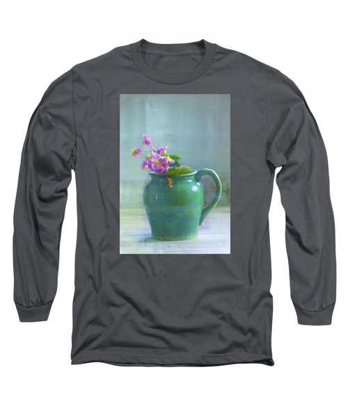 Art Of Begonia Long Sleeve T-Shirt by John Rivera