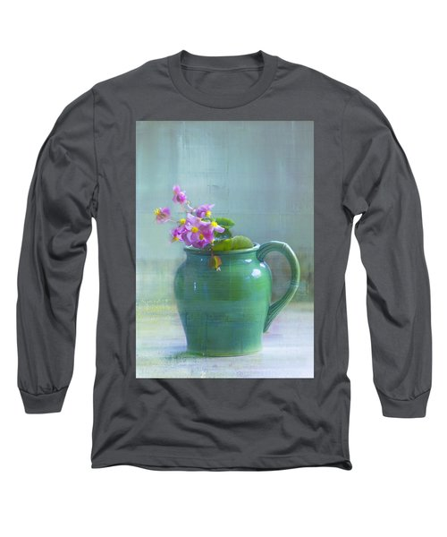 Art Of Begonia Long Sleeve T-Shirt