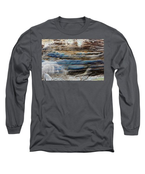 Art Print Cliff 1 Long Sleeve T-Shirt