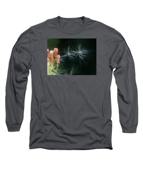 Long Sleeve T-Shirt featuring the photograph Artistic  Air Dance by Leif Sohlman