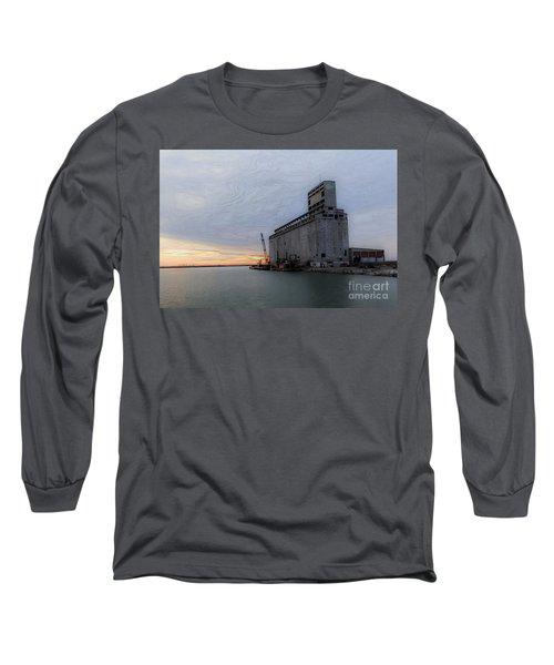 Artistic Sunset Long Sleeve T-Shirt by Jim Lepard