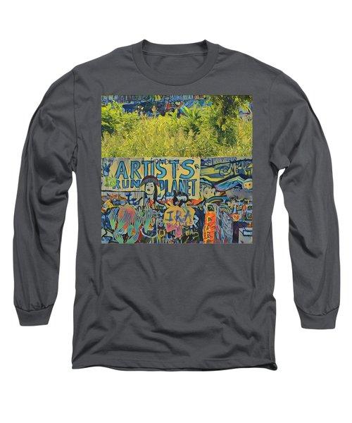 Artists Run The Planet Long Sleeve T-Shirt