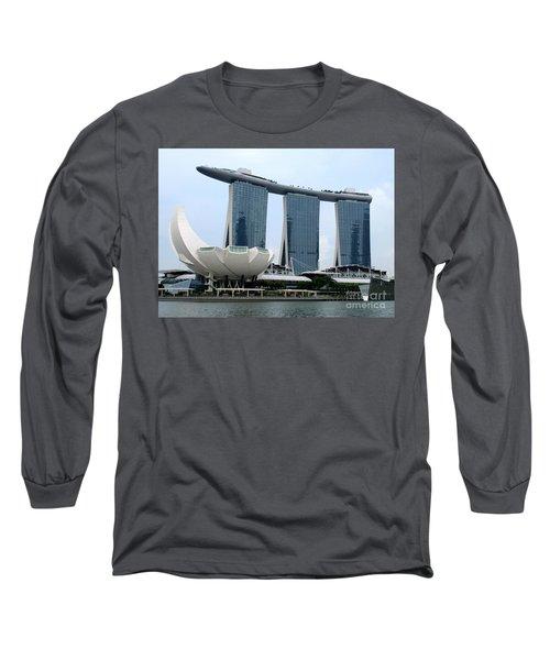 Artscience 5 Long Sleeve T-Shirt by Randall Weidner