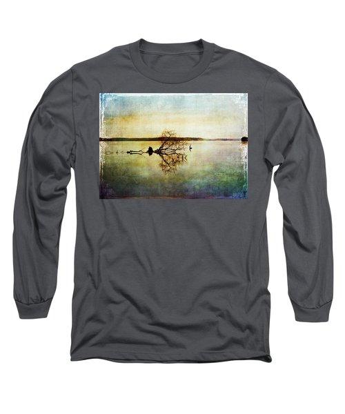 Artsy Lake Reflections Long Sleeve T-Shirt