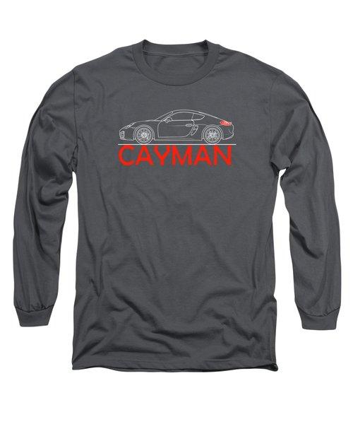 Porsche Cayman Phone Case Long Sleeve T-Shirt