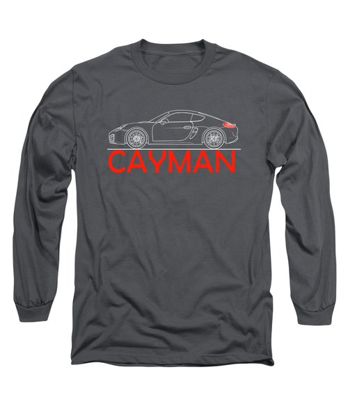 Porsche Cayman Phone Case Long Sleeve T-Shirt