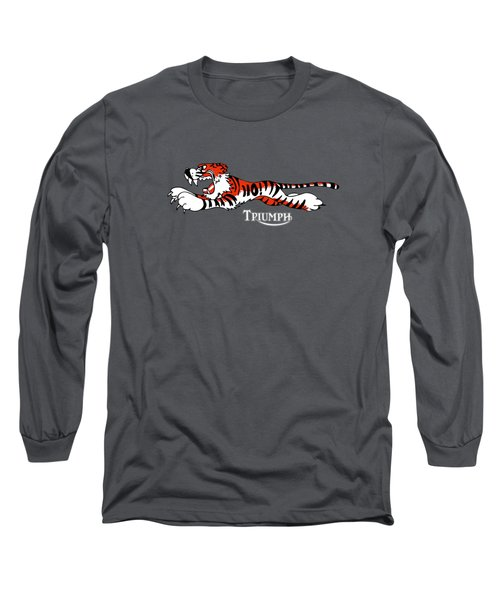 Triumph Tiger Phone Case Long Sleeve T-Shirt