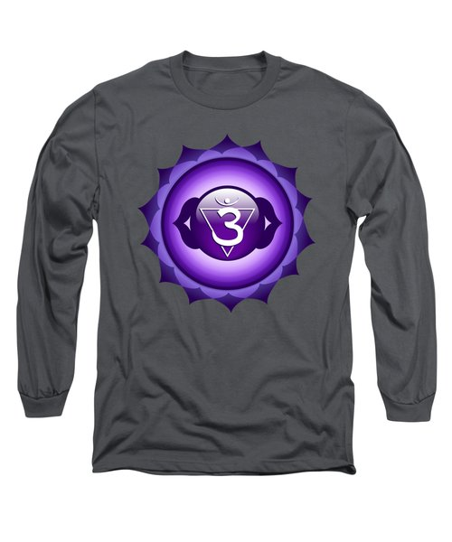 Third Eye Chakra - Ajna Long Sleeve T-Shirt