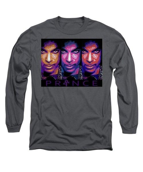 Prince Long Sleeve T-Shirt by Maria Arango
