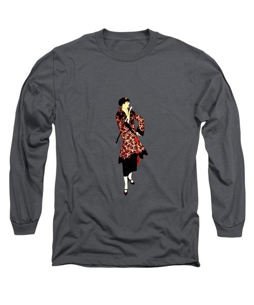 La Robe  Long Sleeve T-Shirt by Asok Mukhopadhyay
