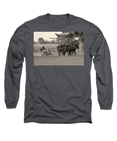 Checking The Row Long Sleeve T-Shirt
