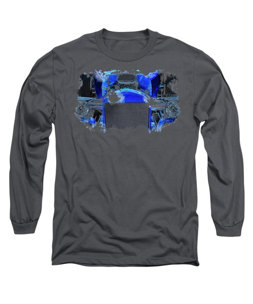 Blue Roadster Long Sleeve T-Shirt