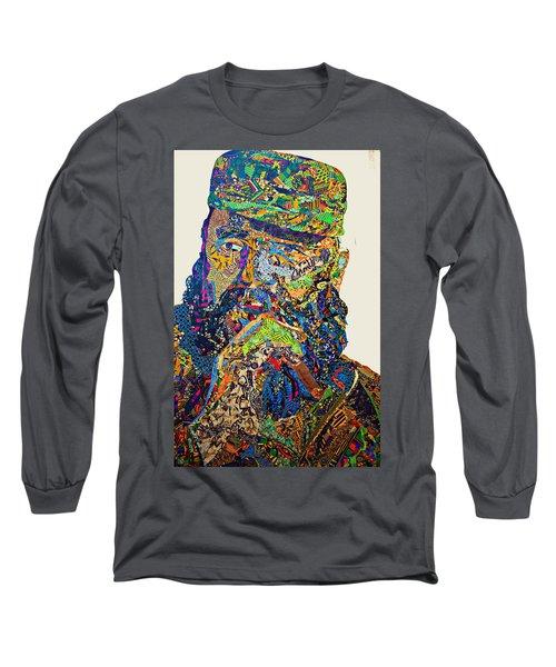 Fidel El Comandante Complejo Long Sleeve T-Shirt
