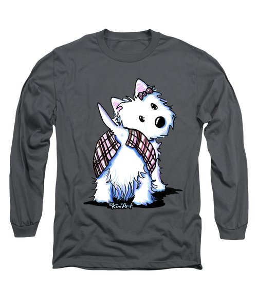 Dressed To Kilt Westie Long Sleeve T-Shirt