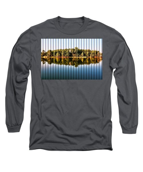 When Nature Reflects - The Slat Collection Long Sleeve T-Shirt by Bill Kesler